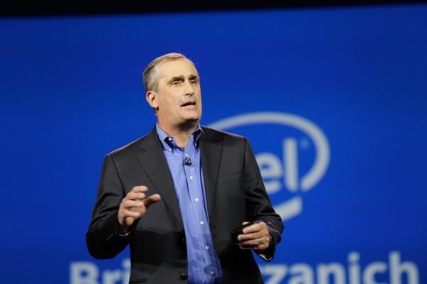Brian Krzanich, CEO de Intel, anunció la fuerte inversión que realizará su compañía en los próximos cinco años.