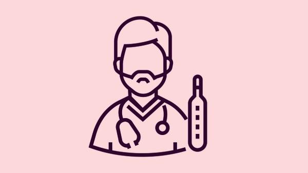 #MiCasoIVA: ¿Cómo impacta el IVA a Ari, el doctor que atiende en una clínica privada? Ilustración: Shutterstock.