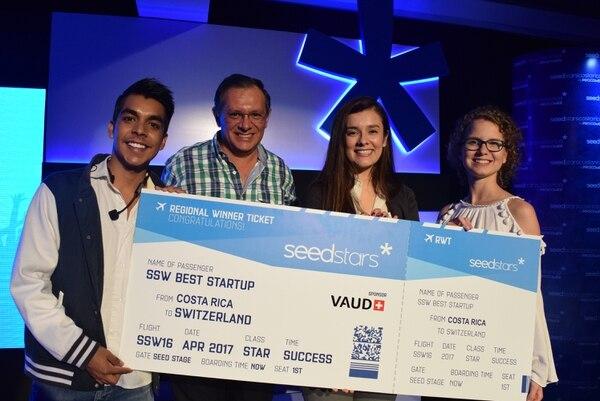 Blue-loop, una plataforma que busca el empoderamiento, la visibilidad, y comunicación efectiva, idea de Ariana Cortés, ganó la categoría de Startups.