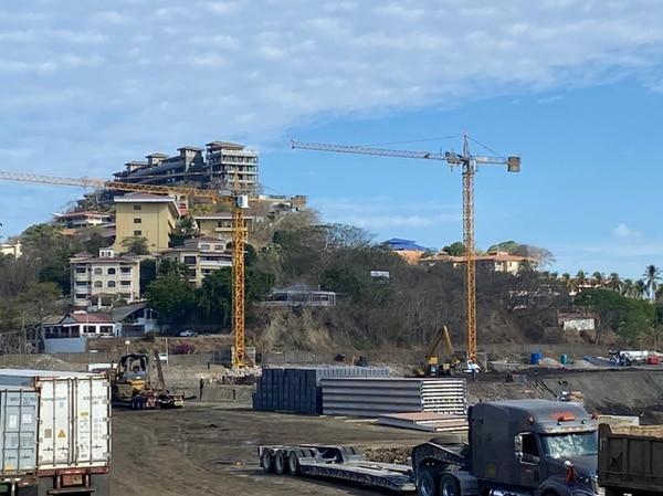 Joaquín Gamboa, promotor del proyecto Marina Flamingo afirmó a EF que a la fecha han invertido cerca de $14 millones, y que están pronto a iniciar sus edificaciones en tierra. Fotografía: Sergio Morales.