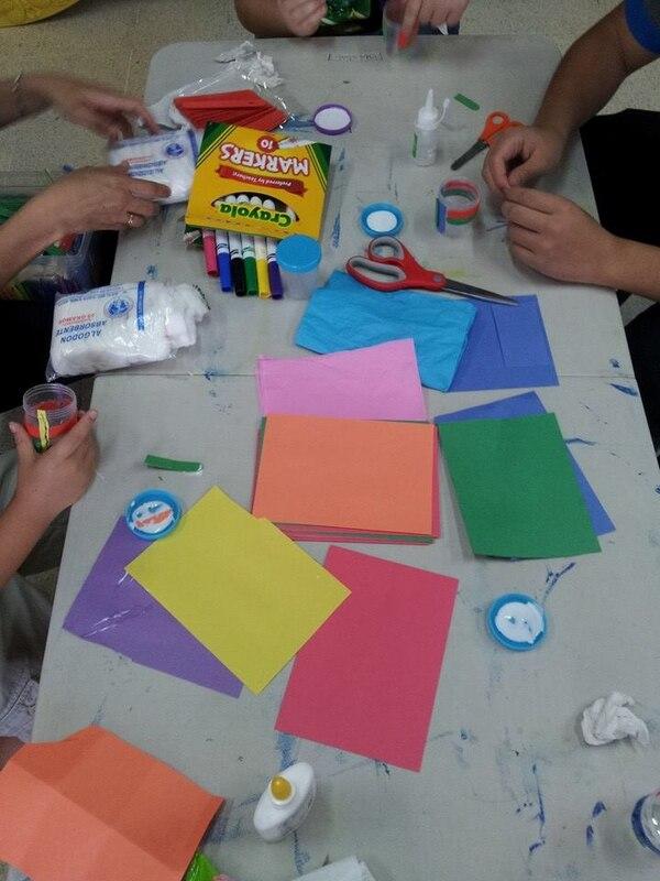 Los niños aprenden a través de juegos y diferentes dinámicas.
