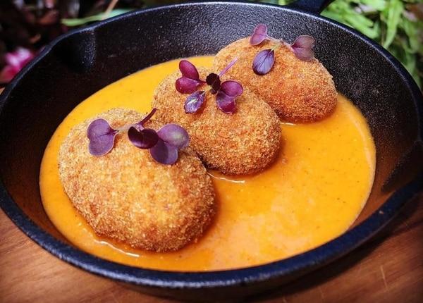Otro de los platos es del de croquetas de cordero. (Foto para EF)