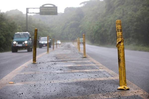 La ruta 32 se inauguró el 28 de marzo de 1987 y actualmente sirve para transportar el 80% de las mercancías que entran y salen de Costa Rica.