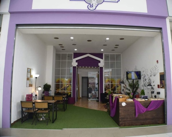 El local se ubica en City Mall, en Alajuela. (Foto: Tatuajes Temporales RBK para EF).