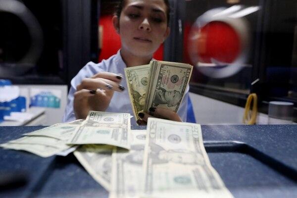 Las reservas internacionales netas del Banco Central bajaron a $6.778,9 millones. Fotografía: JOHN DURAN