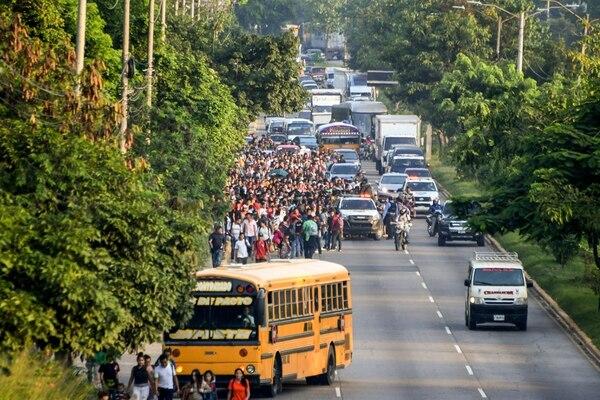 El proceso de discusión desató divisiones, Estados Unidos se retiró de la elaboración del documento en diciembre del 2017, porque consideraba que es contrario a la política migratoria de la administración Trump. Foto: AFP.