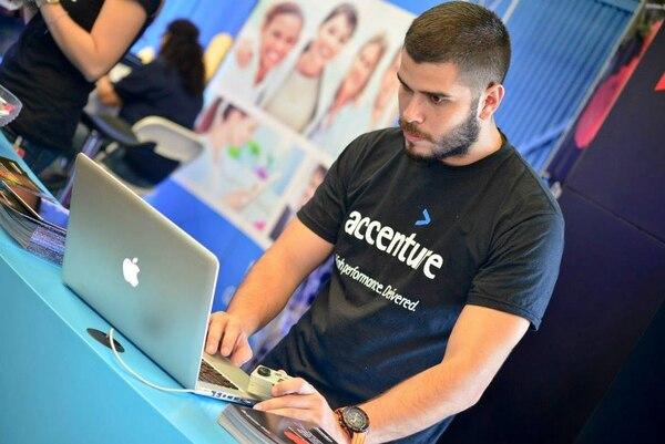La firma Accenture ha venido creciendo 25% al año y ya son 850 colaboradores.