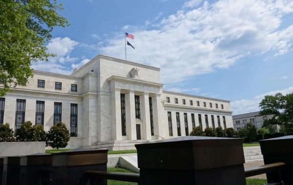 El edificio de la Reserva Federal en Washington, DC. Los miembros aseguraron en julio pasado que las condiciones de la economía de Estados Unidos se están