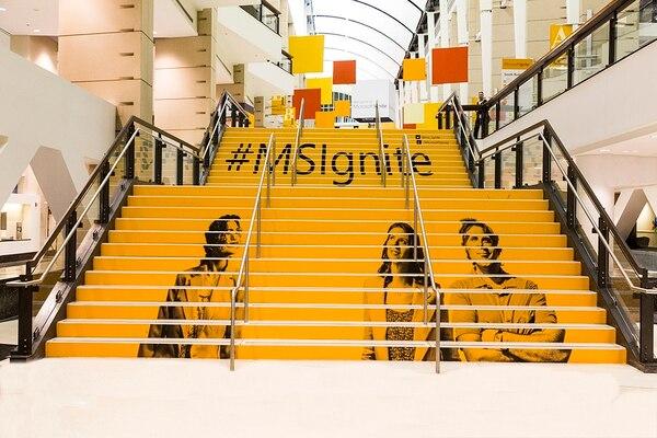 Microsoft inició su primera Ignite Conference, con más de 23.000 asistentes.
