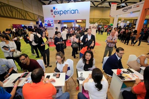 22/02/2019 Centro de Convenciones de Costa Rica. Cientos de personas participaron este viernes durante el primer día de la Feria de empleo Cinde Job Fair. Foto: Rafael Pacheco