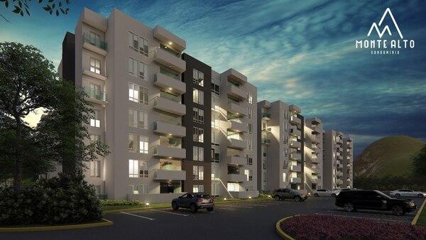Concasa invertirá $40 millones en Monte Alto, un proyecto de apartamentos en Curridabat. Render: Concasa para EF.