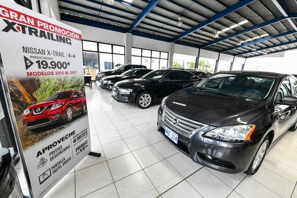Danissa, distribuidor de Nissan y Audi, recibía un 30% de vehículos usados en el 2016 como parte de la compra de un modelo nuevo; para el 2019, el porcentaje fue de 20%. Fotografía: Jorge Castillo