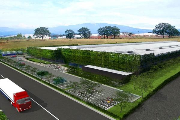 Así lucirá en el Coyol de Alajuela la nueva planta donde trasladará operaciones la empresa Microtechnologies.