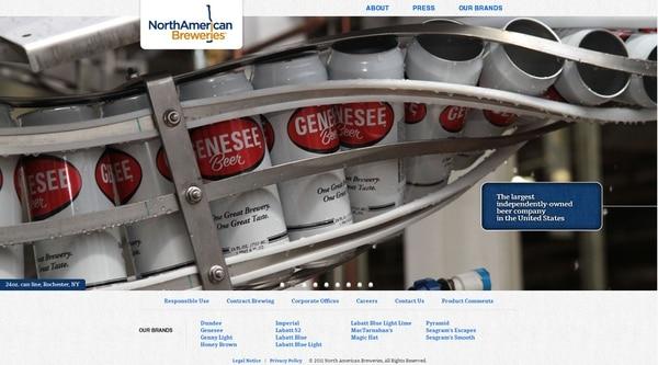 Sitio en Internet de North American Breweries Holdings (http://www.nabreweries.com), empresa adquirida por la empresa costarricense Florida Ice & Farm.