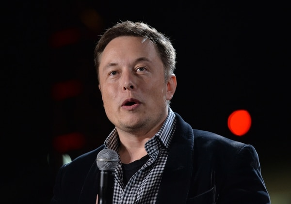 Elon Musk es el fundador y presidente de SpaceX, creador del cohete Falcon Heavy. (Foto AFP / Mark RALSTON)