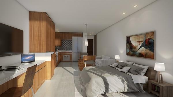 Las unidades tendrán de entre uno a tres dormitorios.
