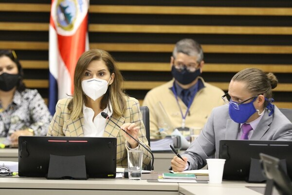 Hernández enfrenta un cuarto año con la agenda de proyectos que sustentan el acuerdo con el FMI a cuestas. (Foto: Maynor Solís | Asamblea Legislativa)