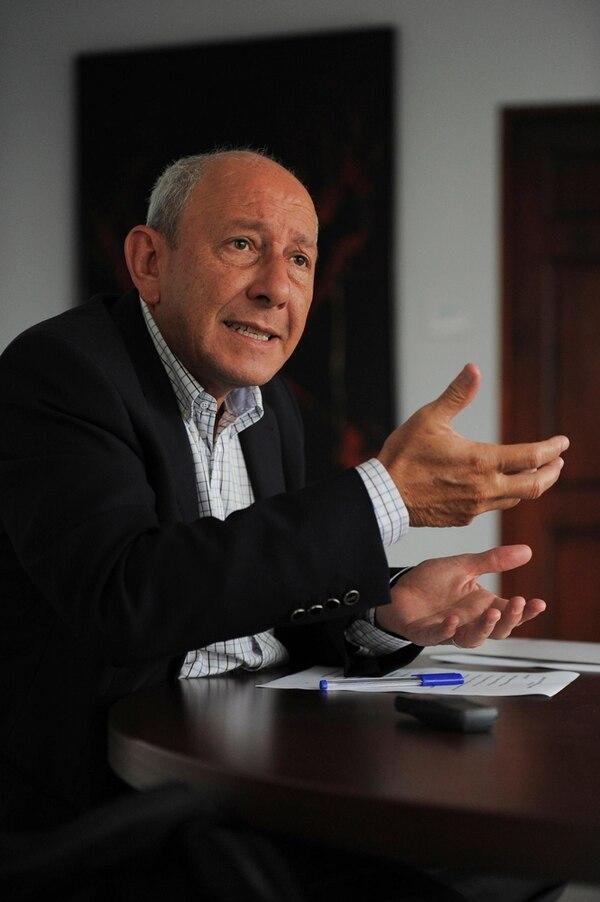 Luis Carlos Delgado, presidente de Conassif.