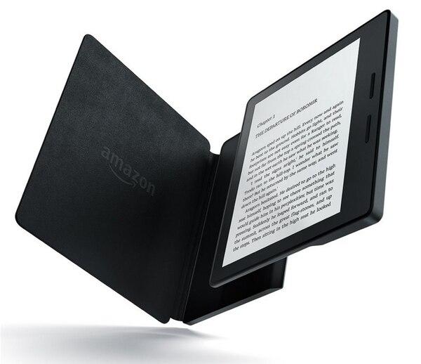 El nuevo Kindle Oasis de Amazon es más delgado y liviano.