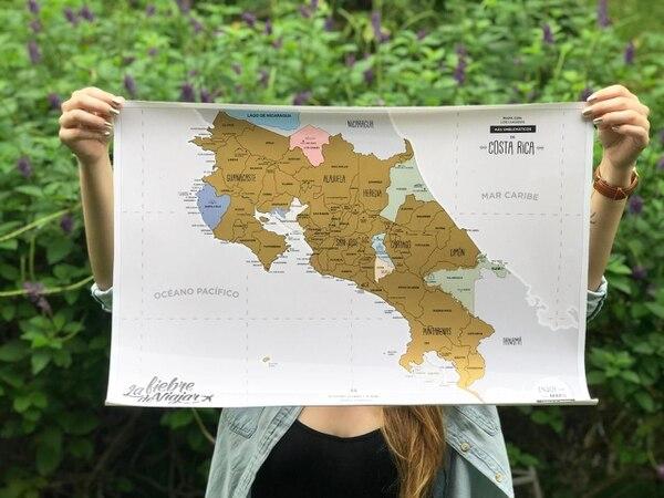 La creación del mapa nacional les tomó varios meses y recientemente lo lanzaron. (Foto: La Fiebre de Viajar para EF).