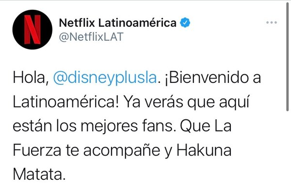 Al momento de esta publicación, el tuit de Netflix Latinoamérica había sido compartido cerca de 30.000 veces y acumulaba unos 250.000