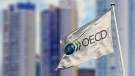 """OCDE califica como """"paso decisivo y necesario"""" el plan fiscal propuesto por Costa Rica para aliviar las finanzas públicas"""