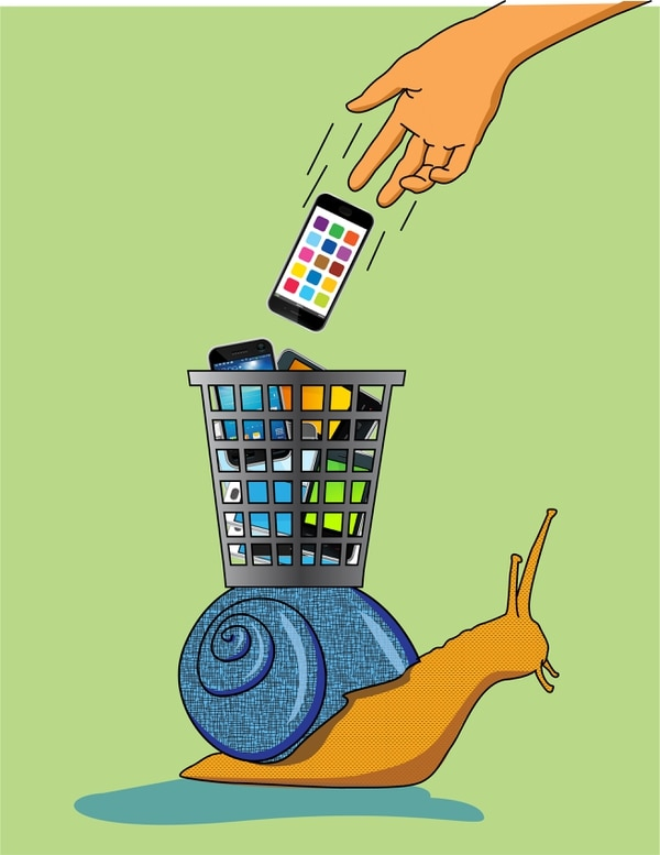 01/12/2017. USAR SOLO EN EL FINANCIERO.There are remedies for when you think your older devices have become slow or short-lived. (Minh Uong/The New York Times) -- NO SALES; FOR EDITORIAL USE ONLY WITH CIR TECH FIX BY BRIAN X. CHEN FOR NOV. 16, 2017, 2017. ALL OTHER USE PROHIBITED. --