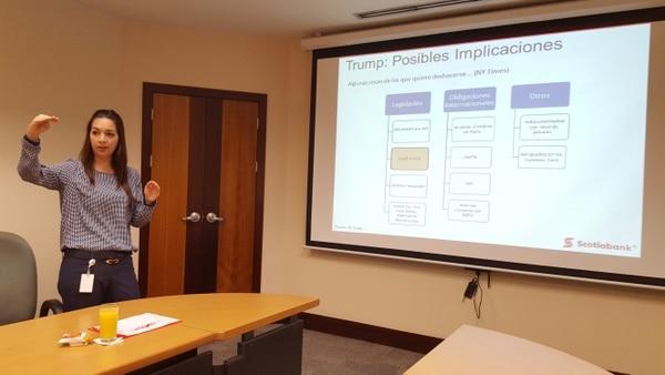 Adriana Rodríguez, gerenta de análisis económico de Scotiabank
