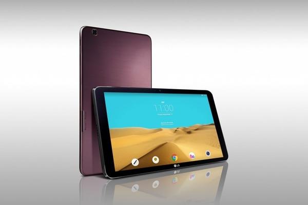 La tableta de LG Electronics G Pad II tiene una pantalla de 10,1 pulgadas en diagonal.