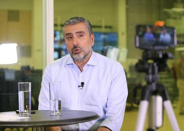 01/11/2017. GNMedios, Tibás. Entrevista al candidato presidencial por el Movimiento Libertario, Otto Guevara, para El Financiero. Foto: Albert Marín.