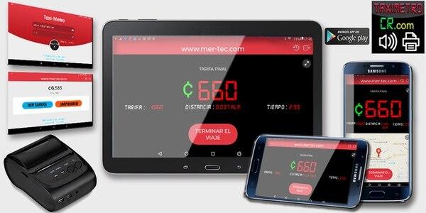 La aplicación está disponible en Google Play. (Foto: Taxímetro CR para EF).