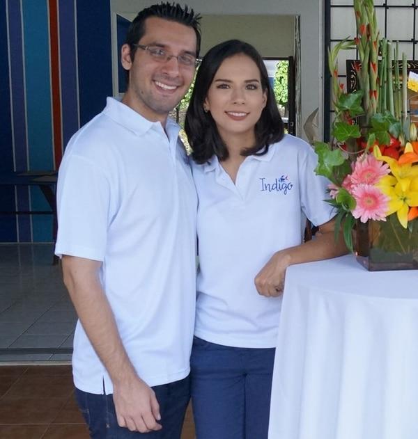 Esteban Blanco Arce y Daniela Taborda Rodríguez encabezan el Laboratorio Creativo Índigo, el cual trabaja con niños en Nicaragua. (Foto: Índigo Laboratorio Creativo para EF).
