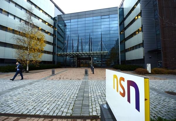 Sede central de Nokia en Finlandia / AFP
