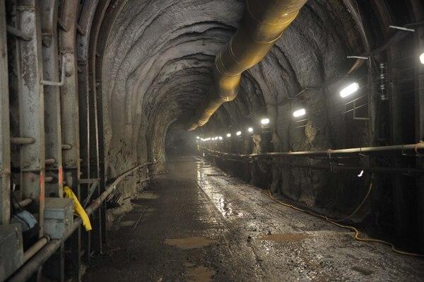 13/04/2011. Visita al Proyecto Hidroeléctrico Diquís que el ICE pretendía construir en el río Térraba, en Buenos Aires de Puntarenas. (Fotografía: Abelardo Fonseca).