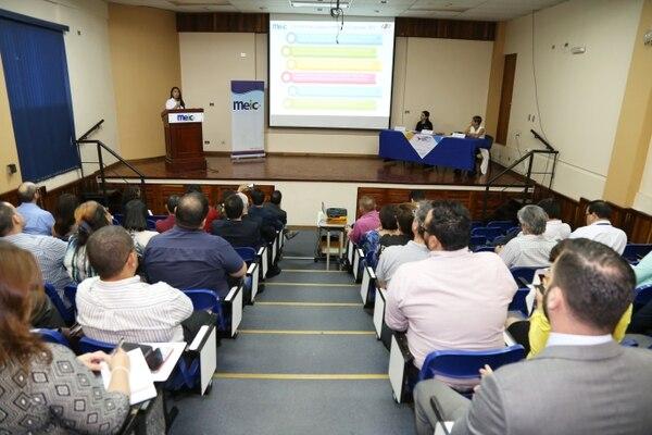 La presentación del estudio se realizó esta mañana en las instalaciones del MEIC.