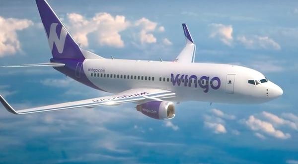 Wingo es una de las aerolíneas que ingresó más recientemente al país, con vuelos hacia Guatemala y Panamá