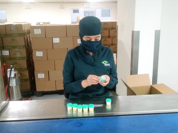 02/06/2020. La producción de Laboratorios Zepol implementó medidas sanitarias como el uso de mascarillas, la desinfección de suelas y el reforzamiento de los protocolos de lavado de manos e higiene general. Foto: Cortesía de Zepol