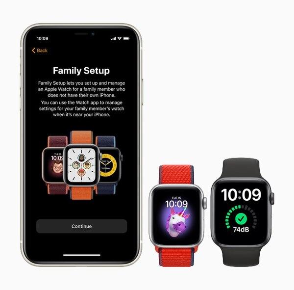 La nueva configuración de Family incluye aplicaciones para menores de edad en su reloj inteligente. (Foto para EF)