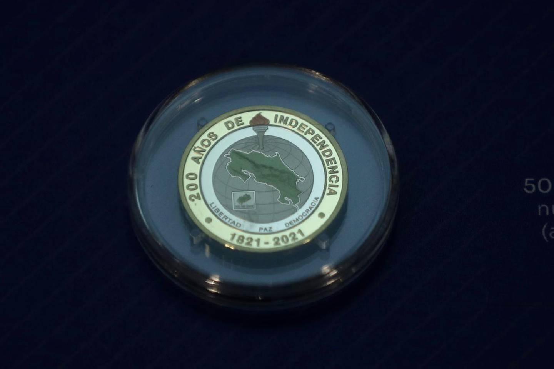 La emisión conmemorativa se compone de cinco millones de monedas de circulación regular de ¢500 que serán puestas a circulación a partir de noviembre