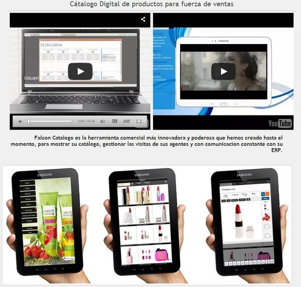 b6f613cc7a La desarrolladora costarricense Roldma desarrolló el catalogo en la nube y  comercializa como un servicio por