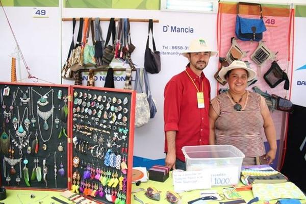 El año pasado los microempresarios vendieron sus productos en el Festival La Pasada, en Cartago.