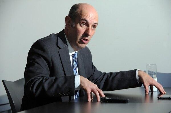 17/8/18 Entrevista a Rodrigo Cubero nuevo presidente del Banco Central de Costa Rica, en GN Medios, para El Financiero y La Nación. Foto:Jorge Castillo