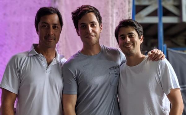Los tres hermanos Gabriel, Alexandre y Miguel fundaron Pronuvo en 2018. (Foto para EF)