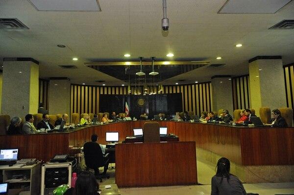 La Corte Suprema de Justicia fue incapaz de elegir un nuevo presidente del Poder Judicial tras cinco rondas de votación. La elección se retomará el próximo lunes en medio de la incertidumbre.