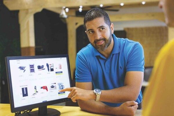El punto de entrega servirá para recoger las compras hechas en línea. Foto: EPA para EF