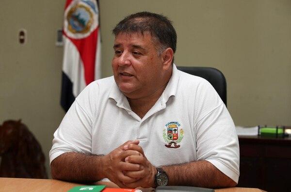 El alcalde de Liberia, Julio Viales, habló con EF el pasado 8 de febrero sobre el desarrollo de Discovery Costa Rica. Fotografia: Graciela Solis