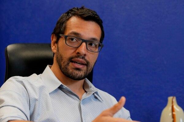 Andrés Valenciano tomó las riendas del Ministerio de Comercio Exterior luego de que Dyalá Jimenez renunciara por diferencias con Cancillería por representación de Costa Rica ante la OCDE. Foto: Mayela López