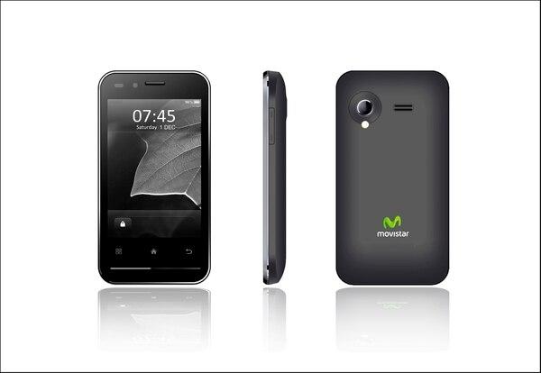 Movistar Android tiene un costo de ¢54.900 (unos $108) y se venderá con planes de servicio prepago y pospago.