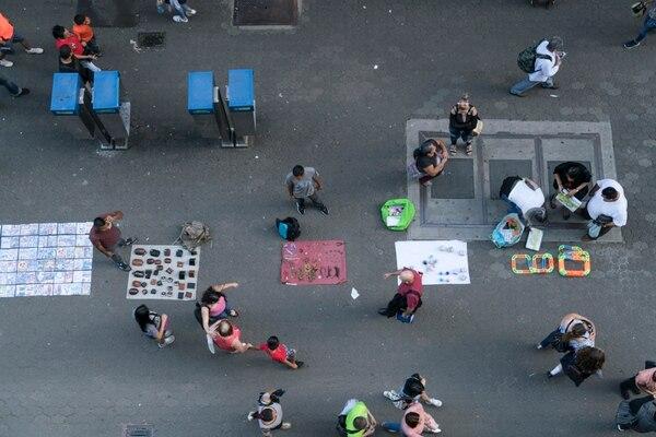 En el país el empleo informal no ha cedido terreno. El 46,3% de los trabajos entran en esta categoría según la ECE. Fotografía : Cristina Solís Cabrera