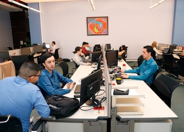 El área de informática forma parte del